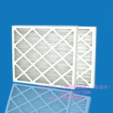 广东纸框过滤器生产 白色纸框 滤料打折呈V型