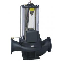 PBG型屏蔽式管道泵,低噪音管道泵系列,管道泵系列,
