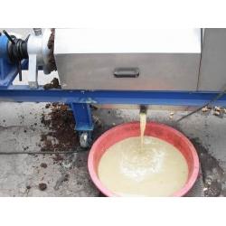 强力双螺旋果蔬挤压榨汁机