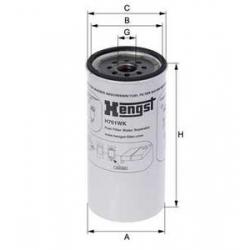 H701WK亨斯特油水分离器滤芯