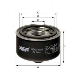 H300W09亨斯特机油-旋紧式过滤器