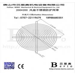 专业生产钢丝网罩 风机网罩 风扇网罩设备