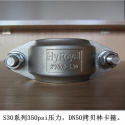 不锈钢拷贝林超滤卡箍
