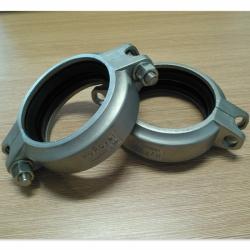 工厂DN80拷贝林3寸不锈钢拷贝林卡箍