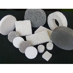 恒昌氧化铝泡沫陶瓷过滤片