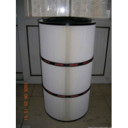 玻璃厂专用覆膜除尘过滤器,过滤效率高,面积大
