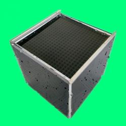 厂家直销耐水蜂窝状活性炭 100*100*100mm