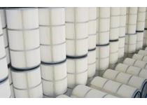 覆膜滤筒依赖于滤料表面的粉尘层达到有效过滤