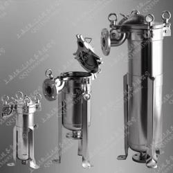 厂家直销顶入式单袋式过滤器 高压袋式过滤机 固液分离