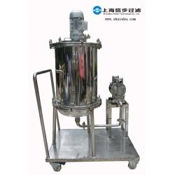 上海信步科技,搅拌式不锈钢过滤器