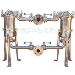 不锈钢可切换双联式过滤机过滤器(可定制)