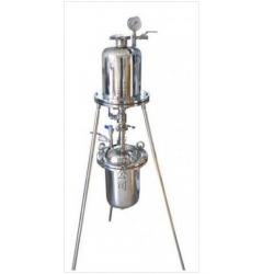 上海信步科技不锈钢收液保温加压式过滤器