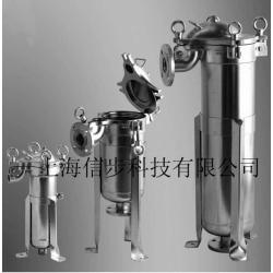 上海信步科技不锈钢带夹套保温过滤器可用蒸汽或热水循环保温