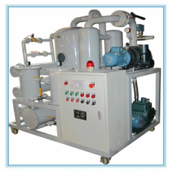 滤油机价格便宜的港能ZYD高效双级真空滤油机