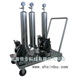 上海信步活性炭壹定发娱乐式钛棒过滤器