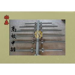 304不锈钢中间排水 交叉进水 梯形绕丝中排上下布水器 装置