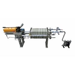 上海信步不锈钢手动高压小型隔膜压滤机
