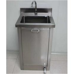 九少优质脚踏式医用池手池直销,单人脚踏式医用洗手池价格