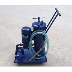 山东LUC-100*3滤油车