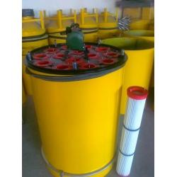 通洁防水防油折波式无纺布粉末回收滤筒