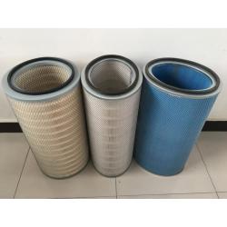 【通洁】防水防油折波式无纺布粉末回收滤筒