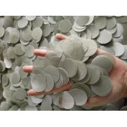 304不锈钢过滤片 耐腐蚀过滤网片 圆形过滤片可定做