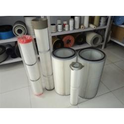 325快拆式粉尘过滤器喷塑回收喷粉滤芯工业除尘用塑粉滤筒
