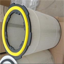 粉末滤芯 除尘空气过滤筒 快拆 卡盘粉尘回收滤芯