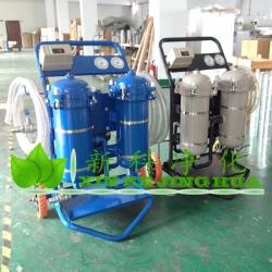 液压油加油小车380V大流量高粘度润滑油便携式滤油机