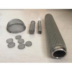 不锈钢网滤芯 折叠滤芯