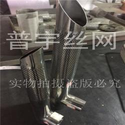 冲孔管 圆孔网滤筒消音管价格