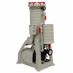 耐酸碱过滤器,聚丙烯过滤器,硫酸过滤机,袋式 PP过滤器