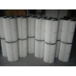 钢厂除尘器专用配套3590耐高温阻燃滤筒,电动扫地车除尘滤芯