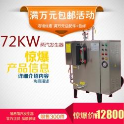 旭恩无烟煤72KW电蒸汽发生器厂家
