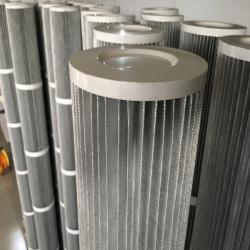 厂家直销 抗防静电粉尘除尘滤筒 聚酯纤维防静电滤筒