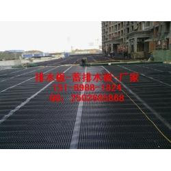 车库滤水板西安(卷材)车库顶板排水板价格