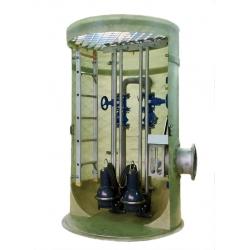 一体化污水提升泵站,预制泵站安装