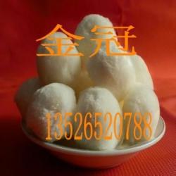 金冠纯手工纤维丝扎结而成的高效纤维球滤料