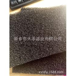 蜂窝状粗孔活性炭海绵 颗粒活性炭过滤海绵 可来样定制