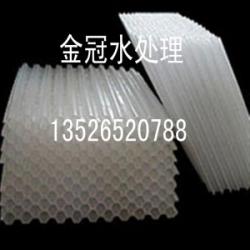 天津工业水助沉助降用蜂窝斜管填料六角蜂窝斜管现货价格