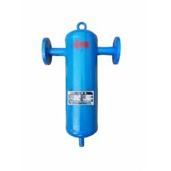 旋风式DN100气水分离器 空压机储水罐除水袋式保安过滤器