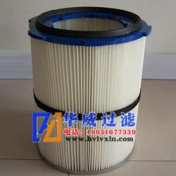 350方盘式聚酯纤维除尘滤筒滤芯生产厂家【华威】