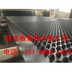 20MM高鄂州车库顶板排水板%孝感车库隔根疏水板