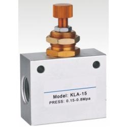 KLA系列单向节流,流量控制调速阀