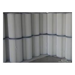 350方盘式聚酯纤维除尘滤筒滤芯现货销售【华威】