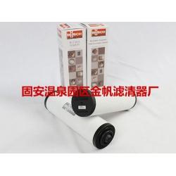 食品包装行业专用真空泵滤芯-普旭0532000508油雾滤芯