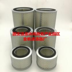 橡胶硫化行业专用真空泵滤芯-普旭0532000004进气滤芯