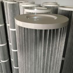 卷烟厂废气高效除尘滤筒型号覆膜除尘滤筒规格齐全