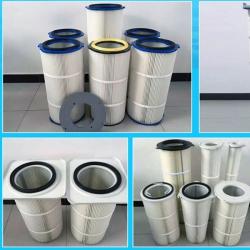 厂家批发涂装焊烟除尘滤芯滤筒 3266抛光机覆膜除尘滤筒