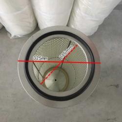 3290内外网除尘滤芯,粉末回收滤筒,抛丸机除尘滤芯